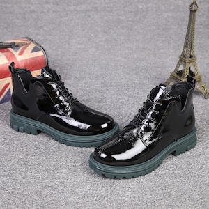 イギリススタイルショートブーツ   1-433