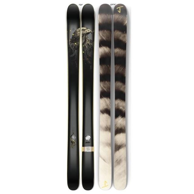 【予約】J skis - ホットショット「ホークアイ」Richey Beckett x Jコラボ限定版スキー【特典付き】