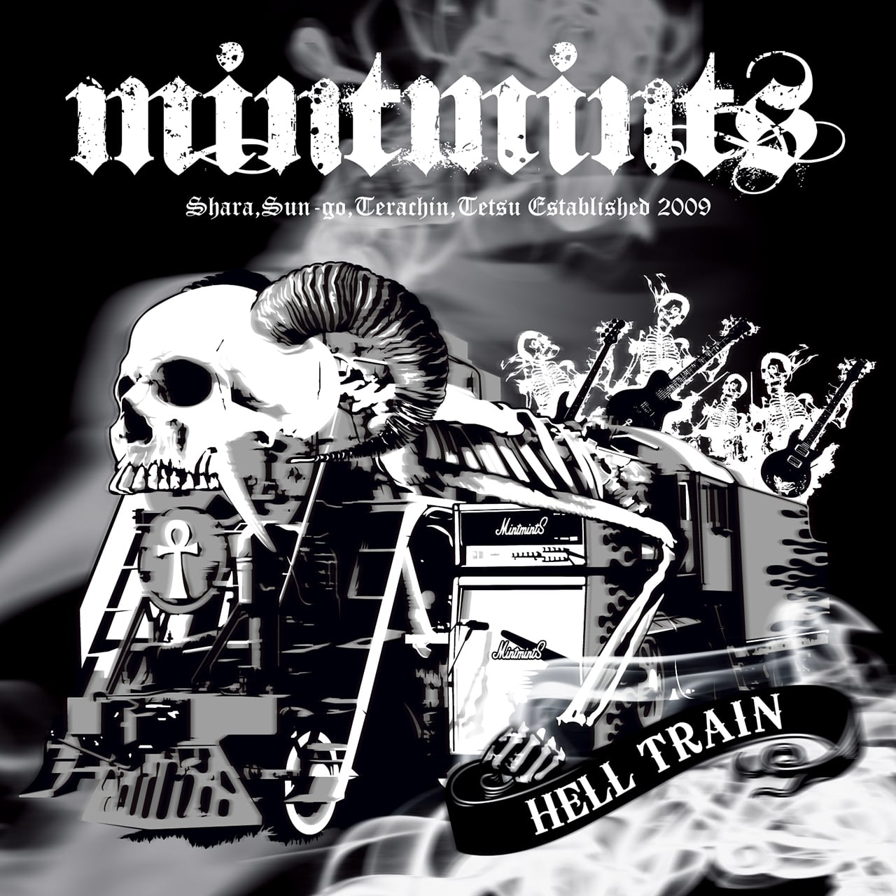 CD+DVD:『HELLTRAIN』mintmints(ミントミンツ) +特典付 - 画像1