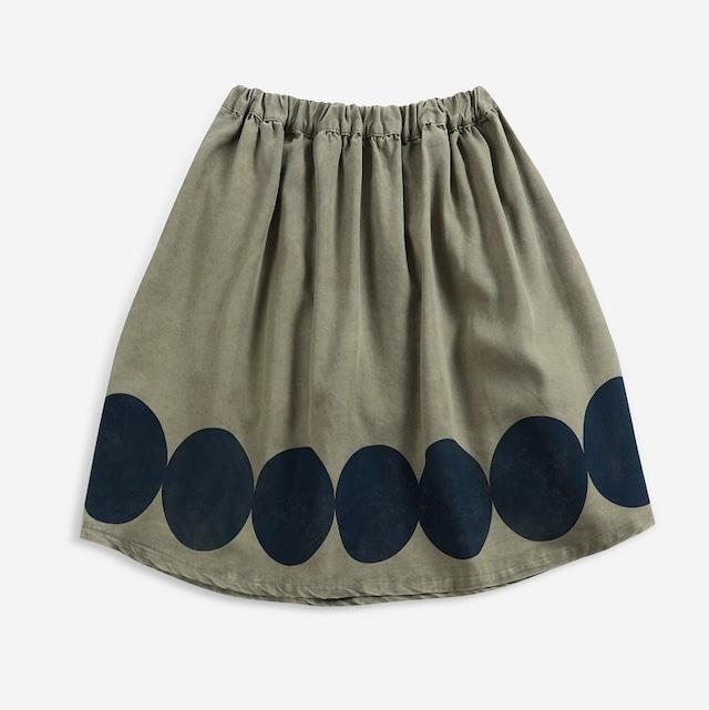 BOBOCHOSES Ovals woven midi skirt