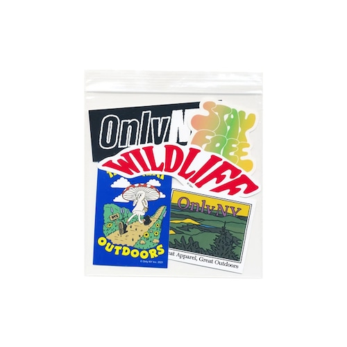 ONLY NY|Spring 2021 Sticker Pack