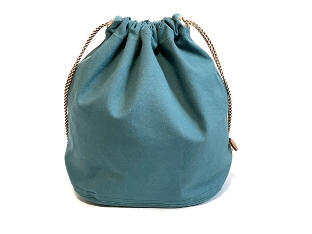 5style巾着バッグ TURQUOISE