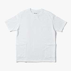 beta post (ベータポスト) Side Pocket T-Shirts (サイドポケットTシャツ) 【WHITE・BLACK】