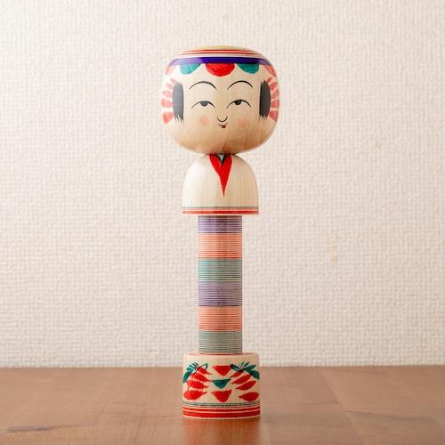 【鎌田孝志 工人】弥治郎こけしのマスキングテープホルダー