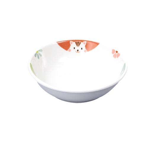 9.8cm小皿 強化磁器 かくれんぼ【1009-1370】