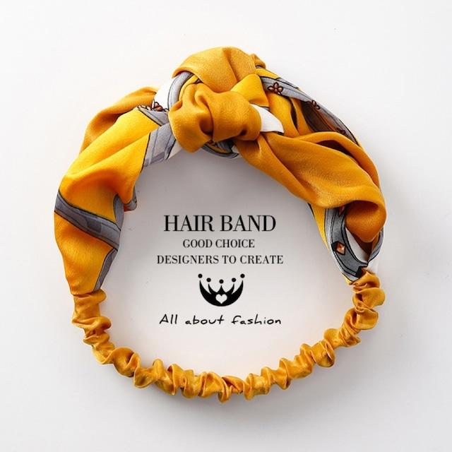 Hair band turban color4  /  KRE083