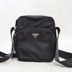 PRADA プラダ ナイロンショルダーバッグ アマゾン型 ブラック