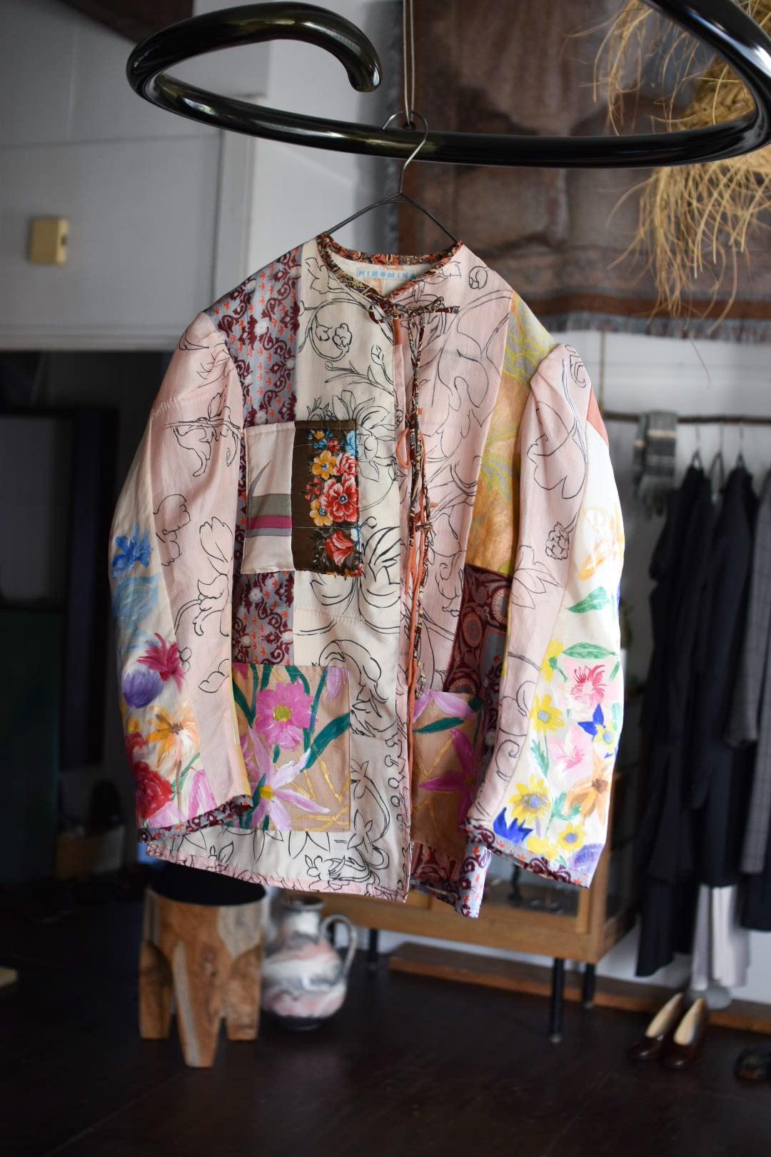 HINOMIHO collag reversible jacket