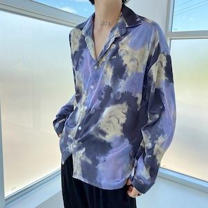 ブルースモークシャツ BL8037