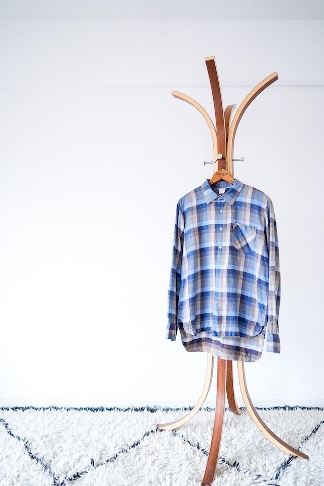 "【1960s】""Turkey Made"" Euro Vintage Grandpa Shirts / v542"