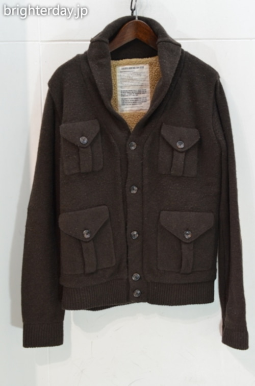 VINTAGE 55 SHERPA HUNTING SWEATER