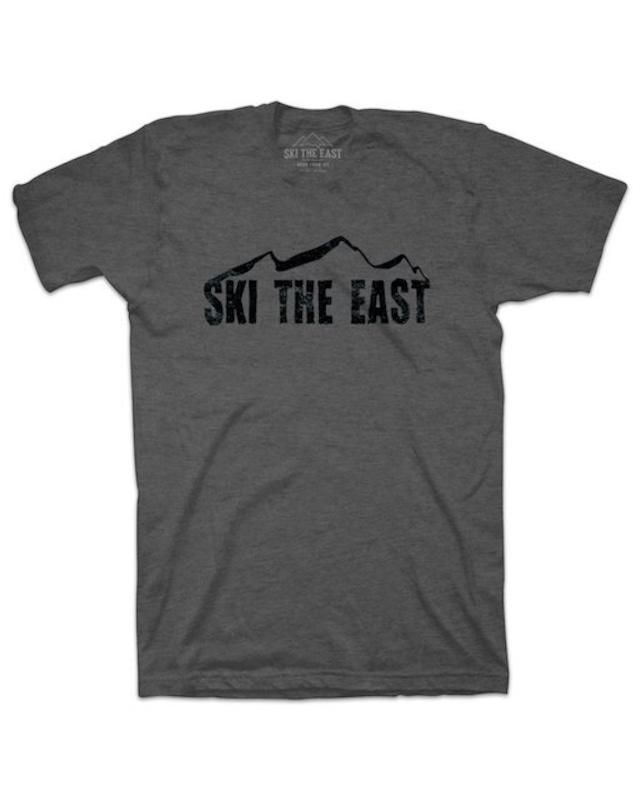 SKI THE EAST -  Vista Tシャツ(チャコール)