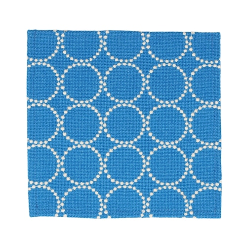 Kvadrat(クヴァドラ) Tambourine Hallingdal(タンバリンハリンダル) プレースマット ブルー