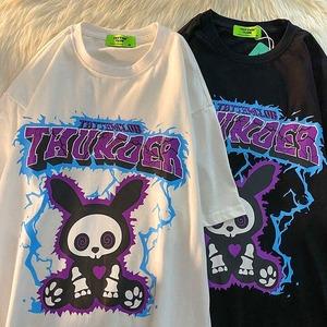 【トップス】キュート半袖通学カジュアルストリート系ファッションシャツ49689833