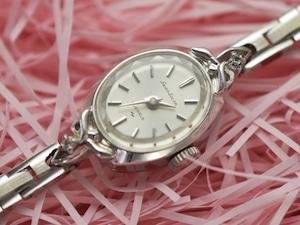 【ビンテージ時計】1967年9月製造 細かい作りがとてもかわいい当時のドレスウォッチ 日本製