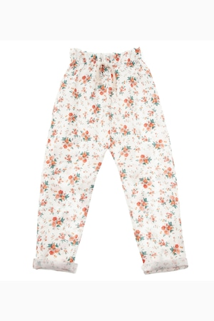 tocoto vintage Flowers pyjama style trousers