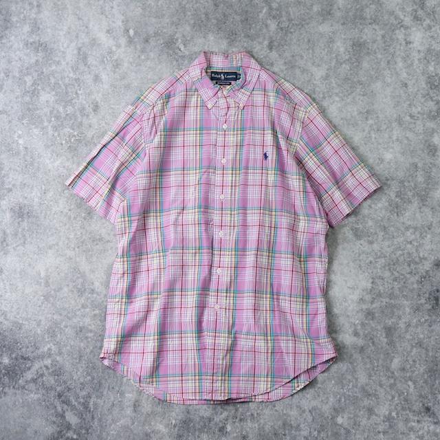 """ POLO RALPH LAUREN ""   S/S  BD  Shirts  M A336"