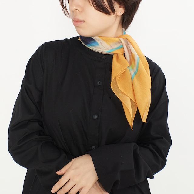小さなシルクウールスカーフ / VOYAGE-2color