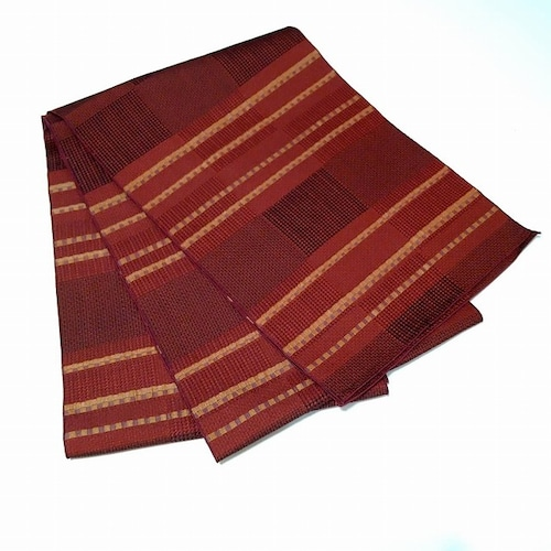 ★オトナ飾り 兵児帯 織柄 葡萄色系 へこおび ★c055