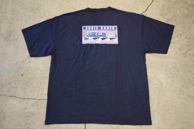 USED 90s Eddie Bauer Tshirt -Large 0901