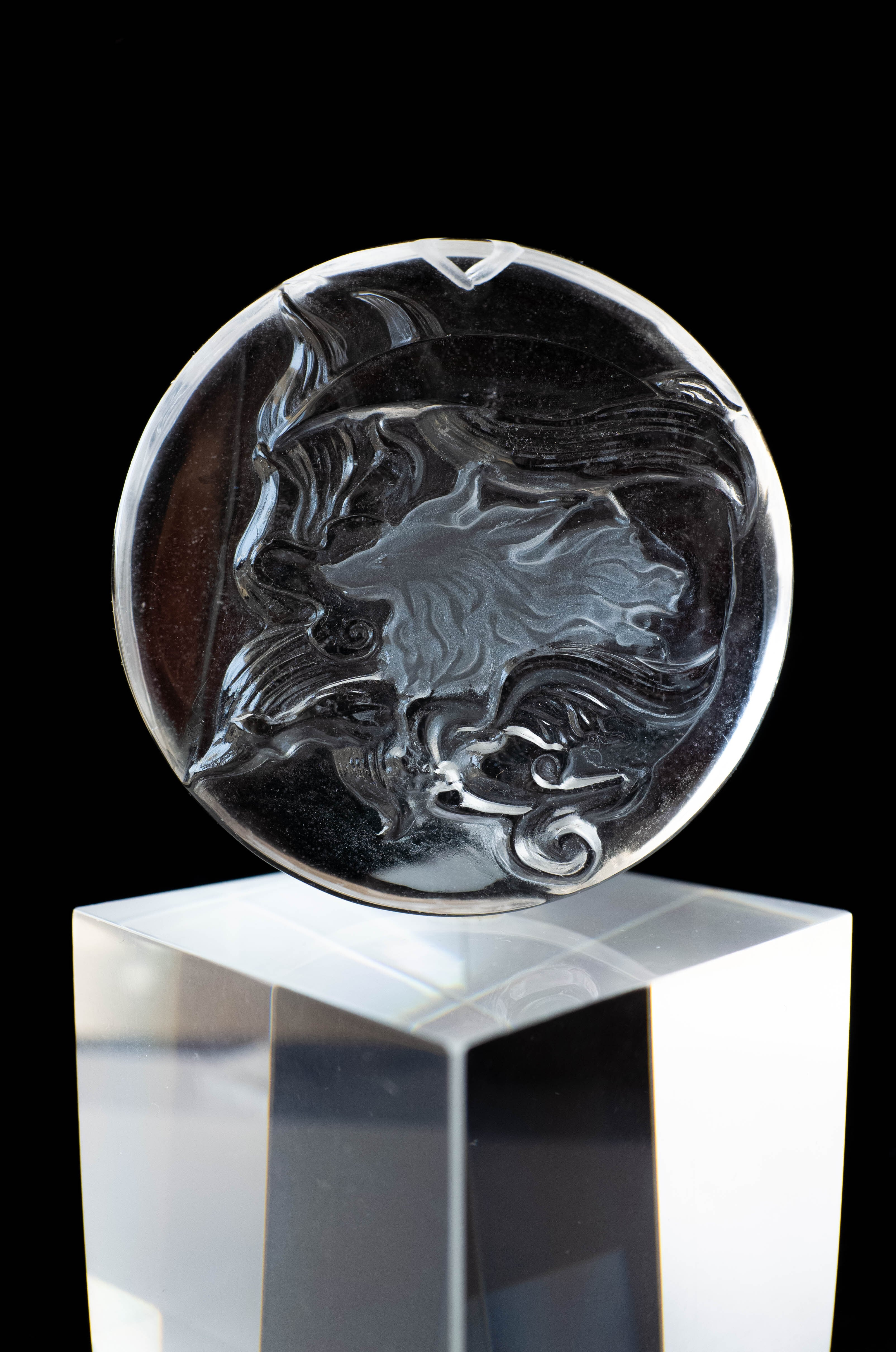 Carving Quartz - 010 Ninetails fox