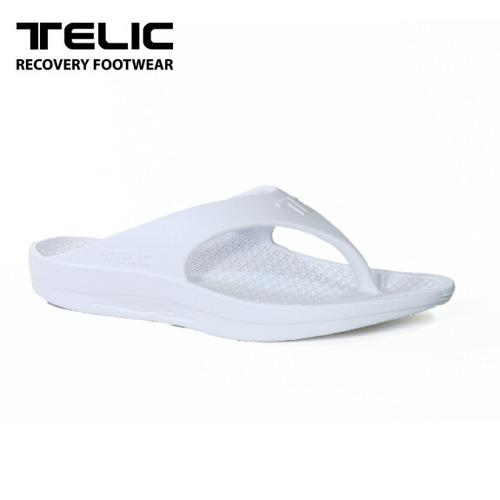 テリック メンズ サンダル リカバリーサンダル TELIC FLIP FLOP WHITE