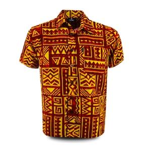 Aloha Shirt 2019 Orenge × Yellow【Size:3XL】