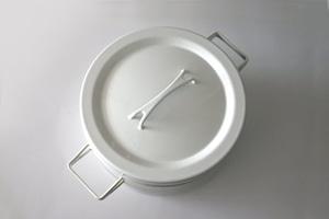 vintage ARABIA (FINEL) enamel stewpot / ヴィンテージ アラビア (フィネル) ホーロー 両手鍋