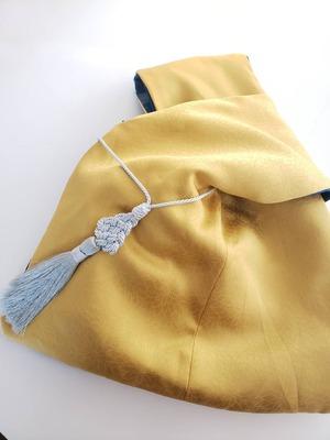 着物仕立て リバーシブル あずま袋