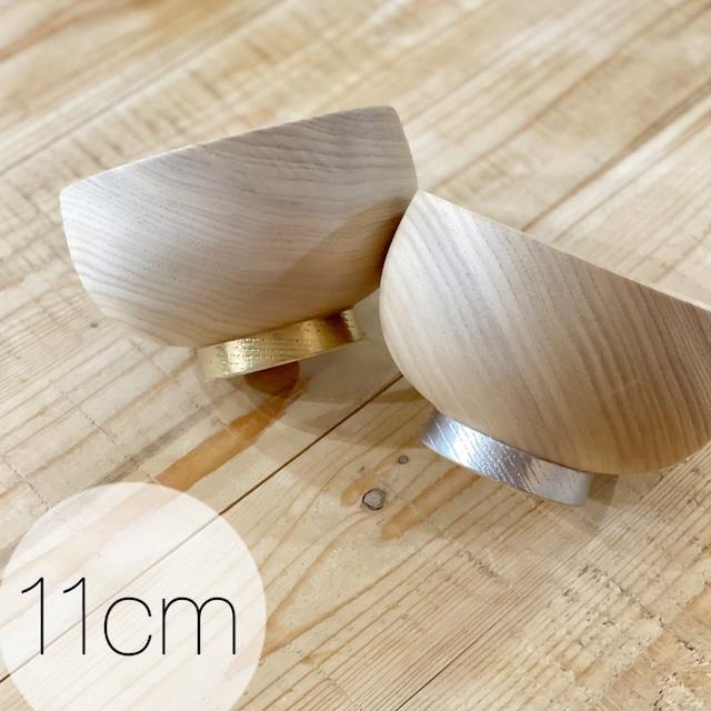 金・銀  栓3.7布袋椀