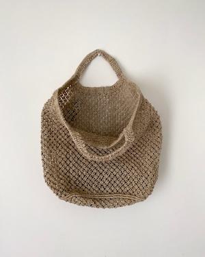 Jute macrame shopping bag Natural|ショッピングバッグ ナチュラル