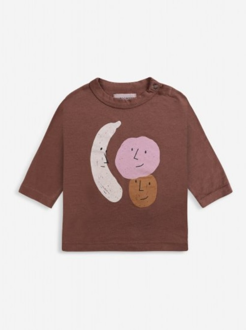 【Bobo Choses】Fruits long sleeve T-shirt