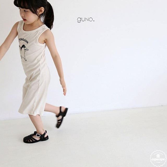 «sold out» guno Penguins one piece 2colors ペンギンワンピース