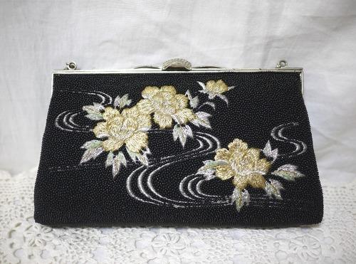 金銀刺繍の和装バッグ 高級バッグ