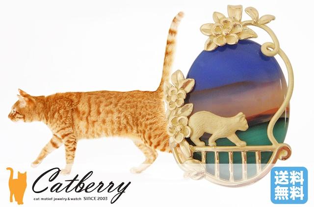 ピクチャーメノウ バルコニーの猫