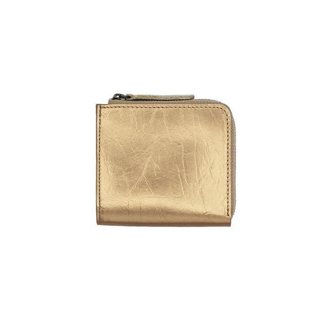 《財布S》TIN BREATH Small purse Antique gold