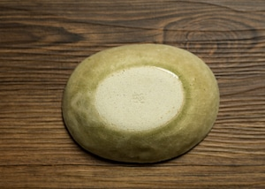灰釉 楕円小鉢 豆皿・小皿/阿部 恵理