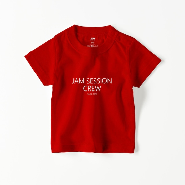 JAM SESSION CREW BABY T (RED)