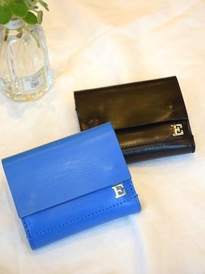 ebagos / 三つ折りスナップボタン財布【カーフ】