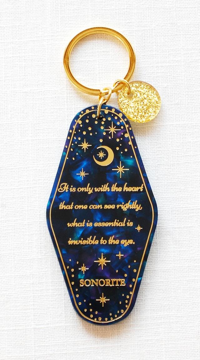 「星の王子様」キラキラ ♪キーホルダー キーチャーム 月 ムーン 送料込み