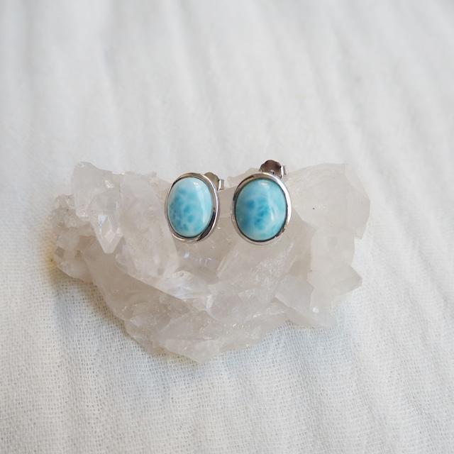 Larimar Pierced Earring《18388264》
