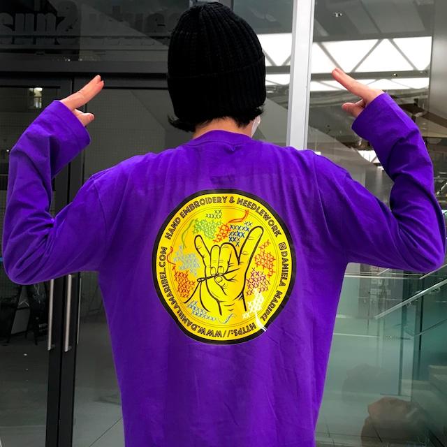 Daniela Logo Long sleeve shirt ◎ Back print