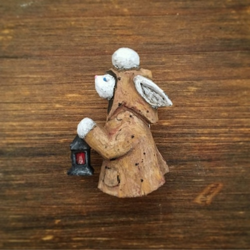 ブローチ あなたが迷わぬように  (Pin resin brooch  So that you do not get lost・・・)