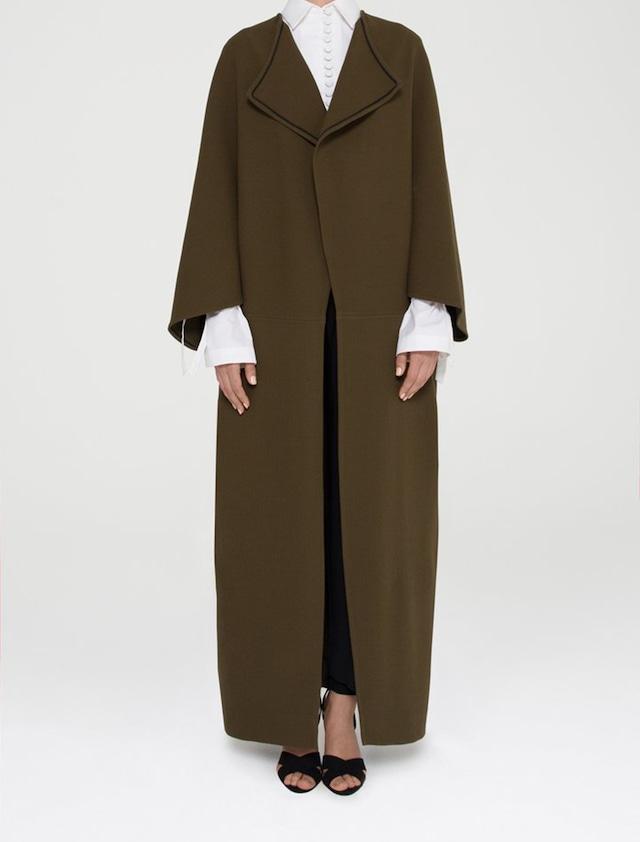 Shape Wool Coat
