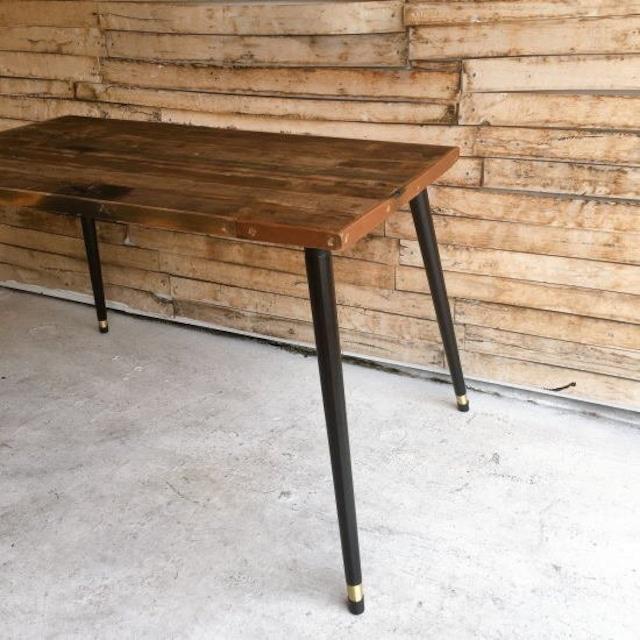 テーブル脚4本セット 73cm ブラック