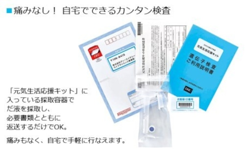 DHC遺伝子検査キット