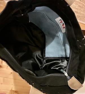 FEDE Sahara Black Tote Bag