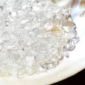 パワーストーンや空間の浄化に さざれ水晶  ヒマラヤ水晶 天然石[Chip stone & Cluster]