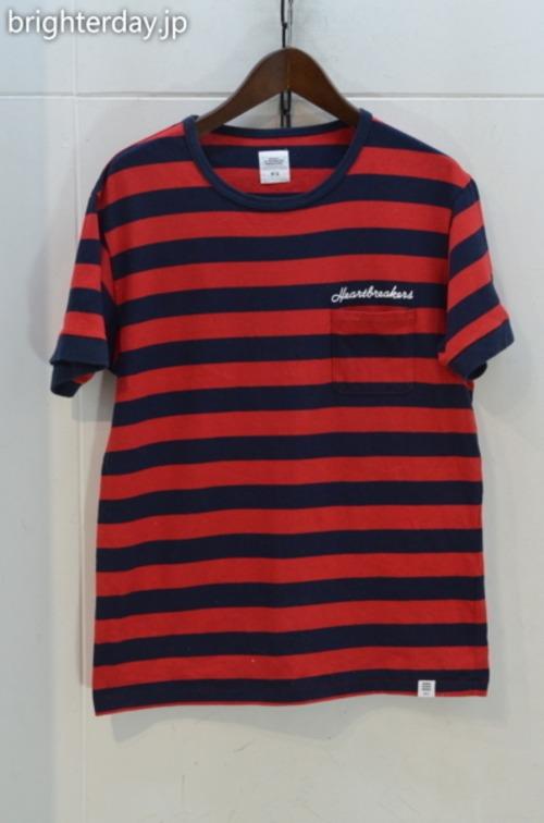 BEDWIN ボーダーTシャツ