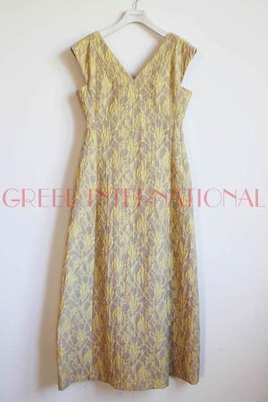 [SALE][送料無料] GREED(グリード) Splash Jacquard  Sleeveless Dress 2020春物新作